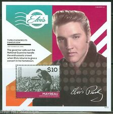 MAYREAU 2014 ELVIS PRESLEY TUPELO HONORS ITS FAMOUS SON   S/S  MINT NH