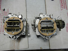 1957-61 DUAL QUAD WCFB CARBURETORS CORVETTE SALE!!! DUAL QUAD 2X4 CARTER