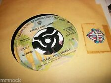 "EVERLY BROTHERS- SILENT TREATMENT VINYL 7"" 45RPM co"