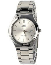 Casio MTP1170A-7A Mens Stainless Steel Analog Casual Dress Watch Silver Dial NEW