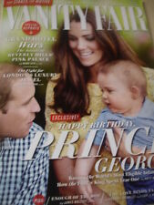 august 2014 Vanity Fair UK Royals Prince William Kate Middleton Prince George