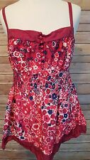 Anthropologie Odille 100% Silk Size 8 Pink Floral Sleeveless Top Shirt Blouse