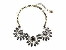AUTHENTIC Betsey Johnson White Out Three-Piece Frontal Necklace RETAIL $68 NWT