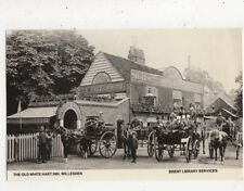 The Old White Hart Inn Willesden Repro Postcard 895a