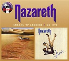 Nazareth-Snakes 'N' Ladders/No Jive  (UK IMPORT)  CD NEW