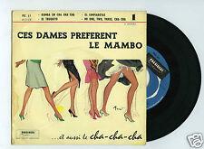 45 RPM EP RITMO CUBANO ORQUESTRA CES DAMES PREFERENT LE MAMBO