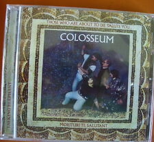 Colosseum Those Who Are About To Die Salute You CD+Bonus Tracks NEW SEALED 2013