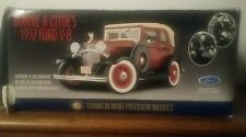 Franklin mint Bonnie and clyde's 1932 ford V-8 NIB