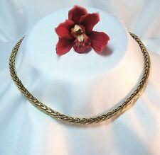 Massive Pierre Lang Kette Halskette Collierkette Collier 42,6cm vergoldet /ar207