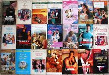 # 4 - 84  ASSORTED ROMANCE BOOKS NO DOUBLES FREE SHIPPING