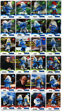 SMURFS, RARE set 24 cards with 3D look, from Slovenia, complete set!