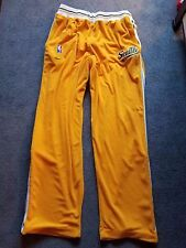 Vintage NIKE Seattle Supersonics NBA Warm Up Pants Men's L