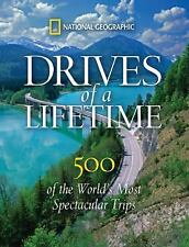 DRIVES OF A LIFETIME - NEW HARDCOVER BOOK