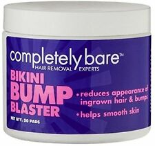 Bikini Bump Blaster For Ingrown Hairs 50 Pads By Completely Bare