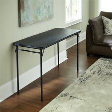 Cosco Home and Office Products 14341BLK1E Vinyl Top Folding Table
