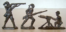 54mm MACHINE GUNNER Unpainted CASTINGS Pewter Lead Metal TOY SOLDIER