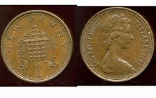 ROYAUME UNI   one 1 new penny 1973  ( bis )