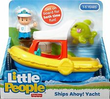 Fisher Price Little People Ships Ahoy Yacht Floaty Boat Bath Toy - DFN27 - New