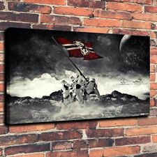 "Art Quality Canvas Print Oil Painting Star Wars Stormtrooper Flag A4062,16""x24"""