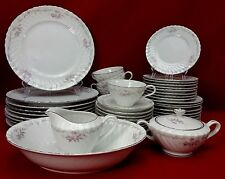 GOLD STANDARD china GST1 pattern 46-piece SET SERVICE dinner salad oval bowl +