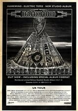 23/5/92Pgn13 HAWKWIND : ELECTRIC TEEPEE ALBUM/TOUR ADVERT 15X11""