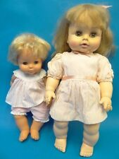 Mixed Lot Two Rubber Fisher Price 1982 379881 Horseman Dolls 1972 20 Eye Baby