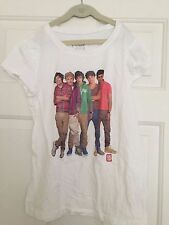 Girl's One Direction 1D Fitted T-Shirt - Girls Size 14 -EUC - Collector's Item