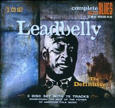 Definitive - Leadbelly (2008, CD NIEUW)3 DISC SET