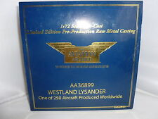 BRAND NEW CORGI AVIATION ARCHIVE AA36899 RARE WESTLAND LYSANDER