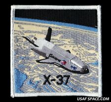 VINTAGE UNCOMMON NASA BOEING X-37 OTV USAF DOD SPACE PLANE PATCH