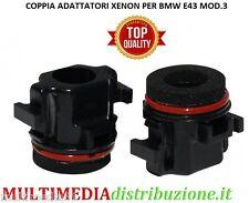 COPPIA PORTALAMPADA ADATTATORE XENON H7 BMW E39 MOD.3 (1996-2003) XA1882