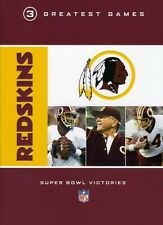 NFL: Washington Redskins - 3 Greatest Games [3 Discs] (2008, REGION 1 DVD New)
