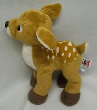 "GANZ Webkinz CUTE SOFT FAWN DEER 9"" Plush Stuffed Animal"