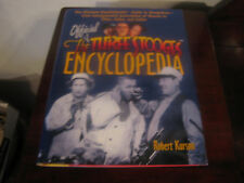 1998 The Official Three Stooges Encyclopedia by Robert Kurson w/ Illustrations