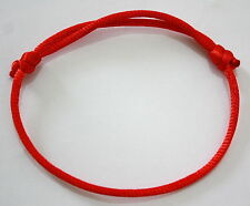 RED STRING...... Good Luck bracelet kabbalah against Adjustable evil eye success