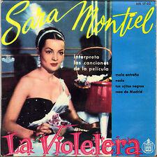 """SARA MONTIEL """"LA VIOLETERA"""" 60'S EP HISPA VOX 17-53"""