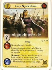 A Game of Thrones LCG - 1x Lady Nym's Guard  #013 - Reach of the Kraken