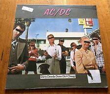 AC/DC Dirty Deeds Done Dirt Cheap  - Reissue Remaster 2003 - Vinyl - LP
