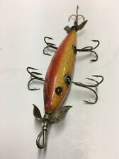 Rare C1905 Heddon Dowagiac 150 In Rainbow GE, BW, Marked props �� Very Nice