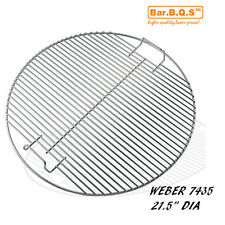 "21.5"" Round BBQ Stainless Grill Cooking Grate- KG 7435 Weber replacement"