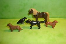 Playmobil: lot de 5 animaux playmobil / animals