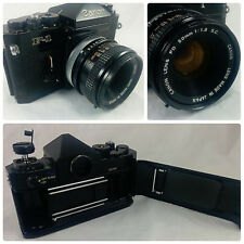 Canon F-1 35mm SLR Film Camera with FD 50mm 1:1.8 s.c