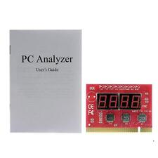 Computer Motherboard LED 4 Digit Analysis Diagnostic Test POST Card PCI Board