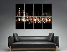 Michael JORDAN Dunk Design Mural  Wall Art Poster Grand format A0 Large Print