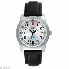 BRAND NEW MENS FORD MOTOR COMPANY GENUINE VICTORINOX SWISS ARMY FIELD WATCH!