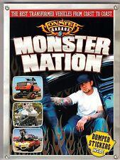 JESSE JAMES Monster Garage MONSTER NATION 2004 GEARHEADS w/ Bumper Stickers