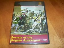 SECRETS OF THE AEGEAN APOCALYPSE Ancient Empire War History Channel  DVD NEW