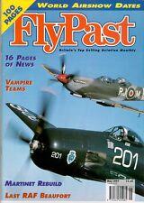 FLYPAST NO.190 WW2 RAF PBY_BEAUFORT_SAA DC-4_RNZAF SINGAPORE_BP BALLIOL_SEAFIRE