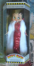 """Betty Boop Sequin Gown Doll 12"""" 30cm MIB"""
