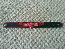 SILICONE RUBBER MUSIC FESTIVAL WRISTBAND/BRACELET:- 30 SECONDS FROM MARS (a)